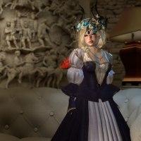 Fashion Show: Katherine Parr Purple Gown